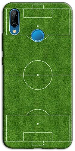 Mixroom - Cover Custodia Back Case in TPU Silicone Morbido per Samsung Galaxy A20E Fantasia Campo da Calcio H127