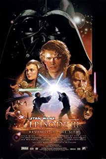 STAR WARS EPISODE III 3 REVENGE OF THE SITH MOVIE POSTER 2 Sided ORIGINAL FINAL 27x40
