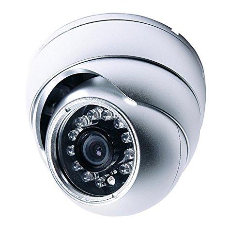 m-e VDV-500.1 Xcam Zusätzliche Dome-Kamera für VISTADOOR und VISTUS Türhörer, (Diameter x Height) 92 x 78 mm