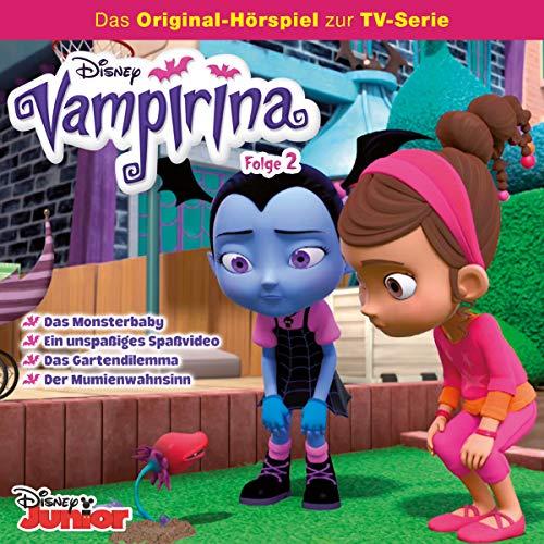 Das Monsterbaby / Ein unspaßiges Spaßvideo / Das Gartendilemma / Der Mumienwahnsinn. Das Original-Hörspiel zur TV-Serie Titelbild