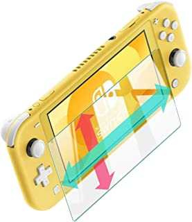 Nintendo Switch Lite フィルム 【WANLOK】つるつる度UP 透明版 硬度9H 超薄0.3mm 2.5D 耐衝撃 撥油性 超耐久 耐指紋 日本旭硝子素材採用 飛散防止処理保護フィルム 任天堂 ニンテンドースイッチライト 対応 Switch lite 382 透明