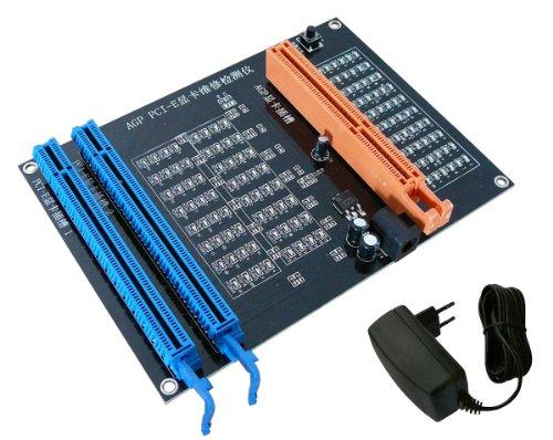 Kalea Informatique Testplatte für Grafikkarte, Dual Schnittstelle AGP und PCI Express