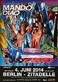 Mando Diao - Aelita, Berlin 2014 » Konzertplakat/Premium