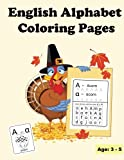 English Alphabet Coloring Pages: Uppercase and Lowercase Letters