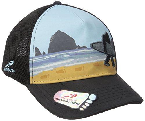 Headsweats Trucker Hat-Soft Tech 5 Panel Sublimated Bigfoot Surf