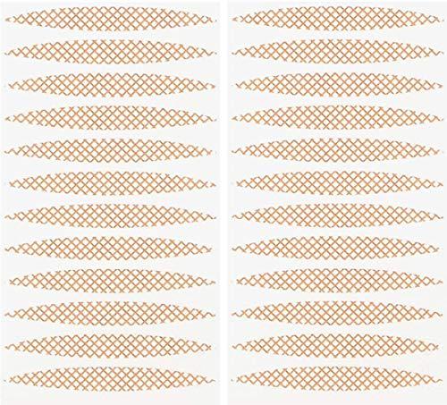 400 Pièces Autocollant Double Paupiere Ruban Invisible Double Paupière Ruban,Correction Invisible des Paupières Tombantes sans chirurgie,Couleur de la Peau