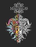 Maedalas 4: Adult Colouring Book