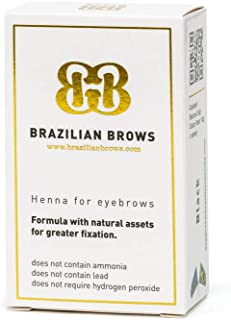 Brazilian Brows Eyebrow Henna | Medium Blonde | Pack & Tinting Kit | Profesional usage