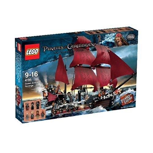 LEGO Piratas del Caribe 4195 - La Venganza de la Reina Ana