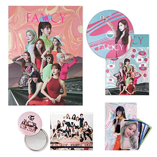 TWICE 7th Mini Album - FANCY YOU [ A ver. ] CD + Photobook + Lenticular Card + Photocards + Sticker + FREE GIFT