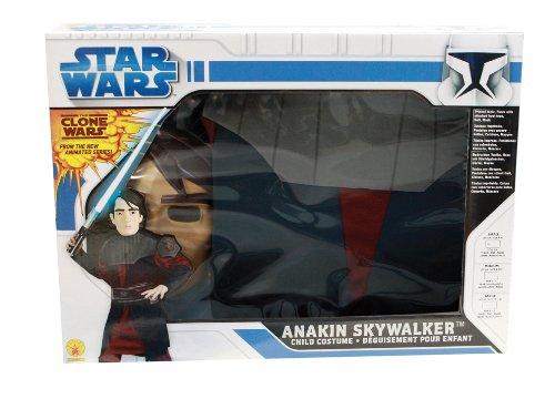 Rubies 3 41083 Clone Wars Anakin Skywalker - Disfraz para niño (talla: 140 cm) , color/modelo surtido