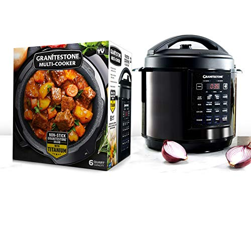 GRANITESTONE 2590 12-in-1 Multicooker with LED Display