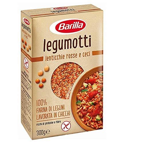 Barilla Legumotti Lenticchie rosse ceci Rote Linsen der Kichererbse 300g