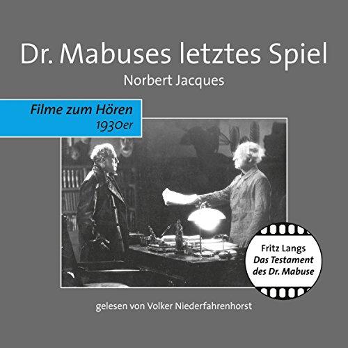 Dr. Mabuses letztes Spiel Titelbild