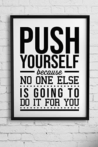Gym Room Wall Decor Motivational posters for office Decor Inspirational Motivation Sports Quotes product image