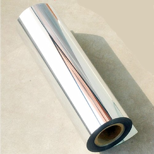 24''x78''Chrome Mirror Silver Vinyl Wrap Sticker Decal Film Sheet -