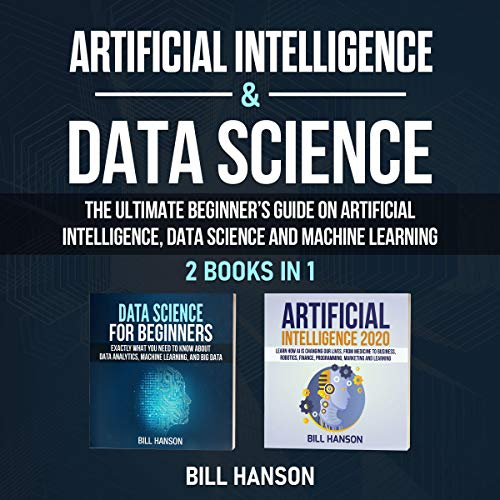 Artificial Intelligence & Data Science audiobook cover art