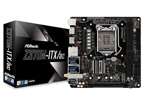 ASRock Intel Z370 チップセット搭載 Mini ITX マザーボード Z370M-ITX/ac
