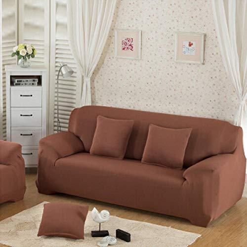 Funda de Sofá 3 Plazas Funda de Sofá Antideslizante con Diseño Elegante Universal Marrón Claro Funda Sofá Elástica Antideslizante Protector Cubierta de Muebles