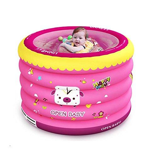 ZI LING SHOP- Bassin pliable épais de douche de bambin gonflable de mini-piscine de bébé d'enfant de piscine gonflable bathtub
