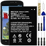 for AT&T ZTE Maven 2 Z831 Replacement Battery Li3823T43P3h735350 with Tools Adhesive