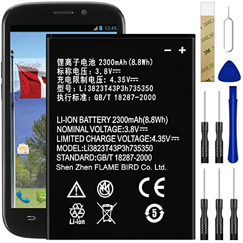 for Boost Mobile ZTE Warp Sync N9515 Replacement Battery,for...