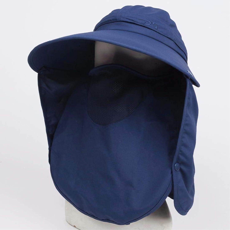 Beach Hat Women's Hats Summer Outing Sunscreen Caps Face Caps Beach Caps Cycling Caps bluee B Summer Sun Hat
