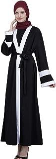 Coco-Z 2019 comf Dubai Style Open Front Kaftan Abaya Muslim Cardigan Jilbab Robe Maxi Lady Dress