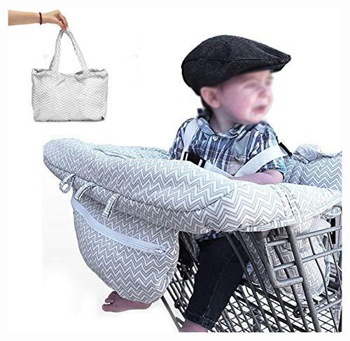 Buy Bargain Stroller & Accessory, Baby Kids Shopping Cart Cushion Kids Trolley Pad Baby Shopping Pus...