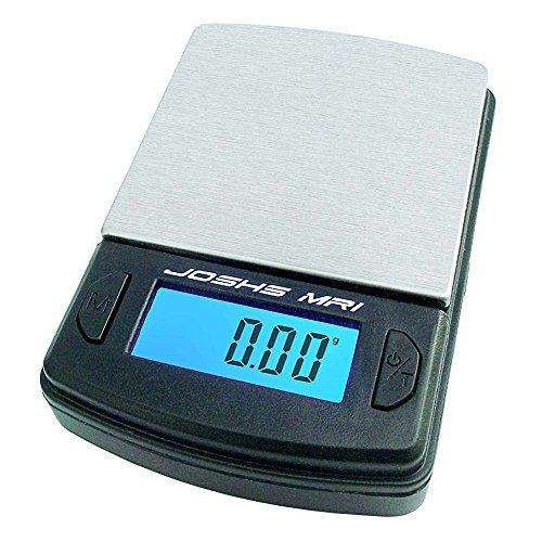 Digital scale, fine scale weighing in 0.01g increments up to 100g, pocket scale, letter scale, gold scale, table scale with stainless steel weighing surface.
