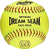 Rawlings Official ASA NFHS Fastpitch Softball, 12 Count, C11RYLA