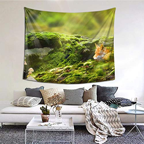 Perfect household goods Art Les Trava Moh Lisa Lis Tapisserie murale décorative pour chambre à coucher, salon, dortoir 152,4 x 130,2 cm