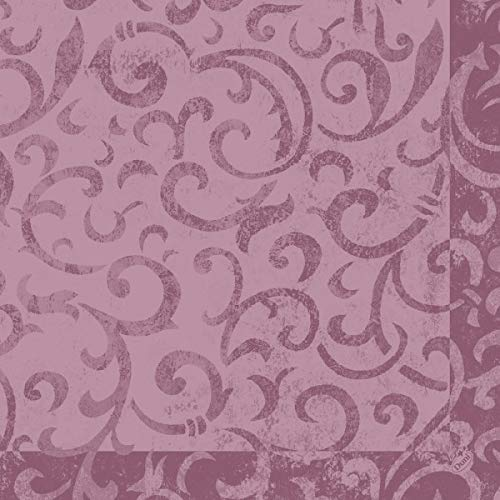 DUNI Dunilin Serviette 40x40 cm 1/4F.Saphira soft violet