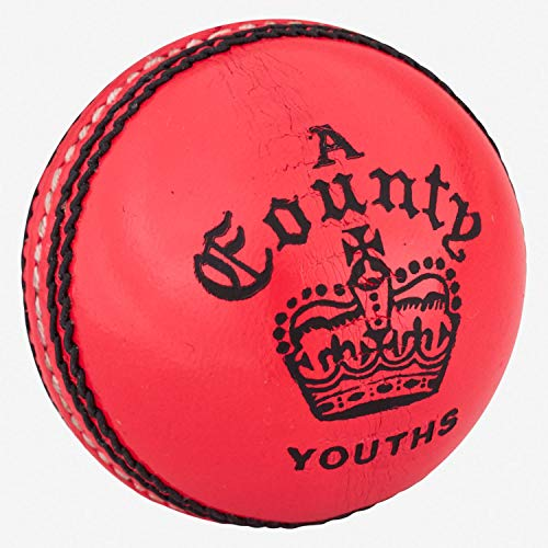 Readers County Crown Cricket Ball -Pink -DS
