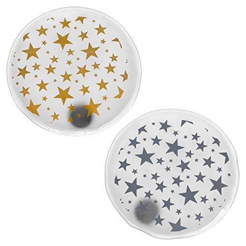 Antineve termico Firebag Scaldamani Sets-stelle in oro e argento-, 2er Set kleine Sterne gold/silber