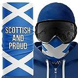 Purple Print House SN12-Snood Snood, Écossais et fier, taille unique Homme