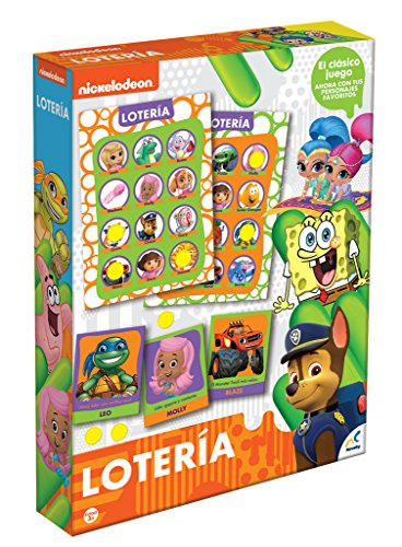 Novelty Corp Juego Lotería Nickelodeon