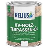Relius UV-Holz-Terrassen-Öl Größe 2,5 LTR, Farbe dunkel