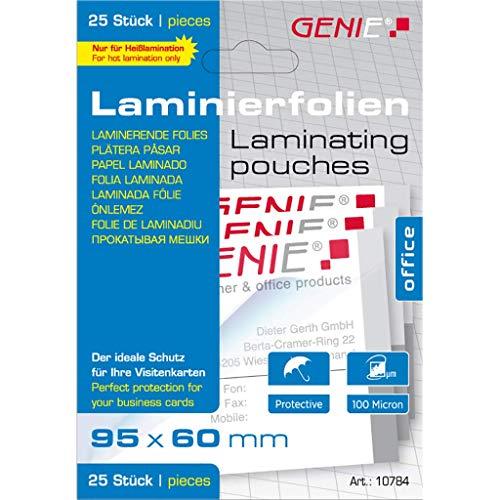 Genie 10784 Laminierfolien (Glasklar,...