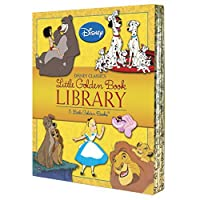 Disney Classics Little Golden Book Library (Disney Classic): Lady and the Tramp; 101 Dalmatians; The Lion King; Alice in Wonderland; The Jungle Book