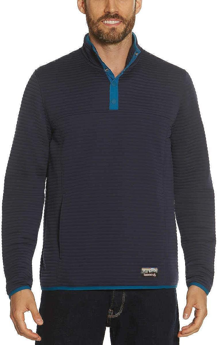 Gerry Men's ¼ Zip Ottoman Pullover