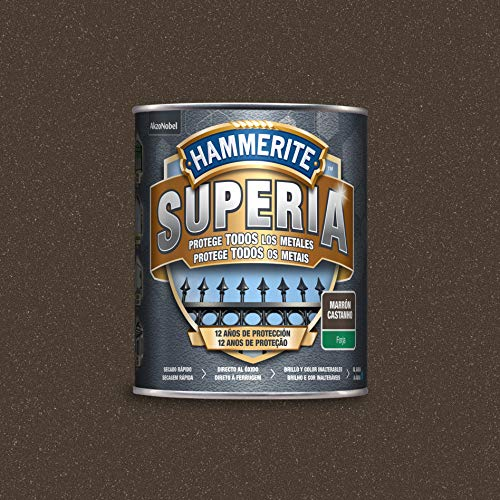 Hammerite Superia Esmalte antioxidante al agua Forja Marrón 750 ml