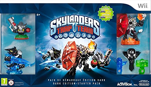Skylanders Trap Team - Dark Pack De Démarrage