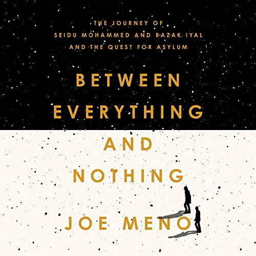 Between Everything and Nothing audiobook cover art