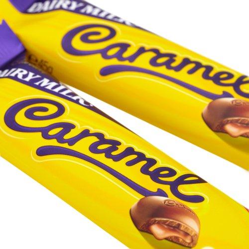Cadbury Bar x 6 (Dairy Milk Caramel 45g)