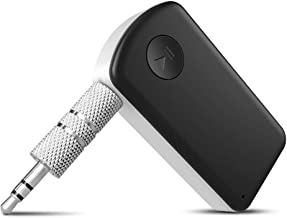 BTMAGIC Wireless Bluetooth Receiver with Handsfree Calls, Siri Google Assistant, for Car/Home Stereo System
