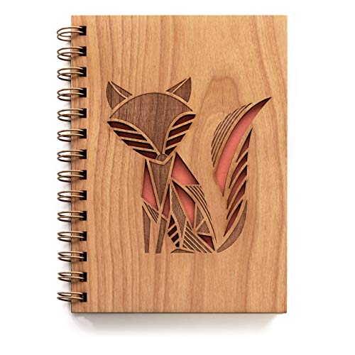 Wood journal - Wooden 5th Anniversary Gifts for Men