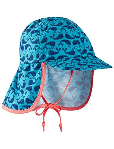 Schiesser Jungen Wal Willy Schirmmütze Mütze, Blau (Türkis 807), (74/80)