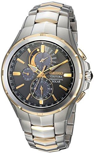 Seiko Watches SSC376 - Orologio da polso da uomo, colore: Bicolore