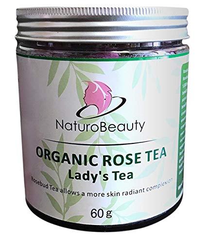NaturoBeauty Rose Bud Tea for Anti-Aging